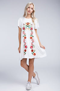 Dani Embroidered Dress