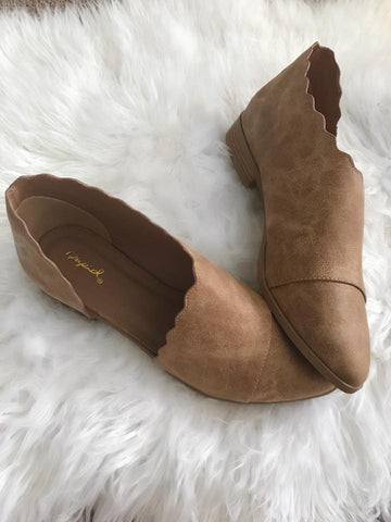 Scalloped Booties