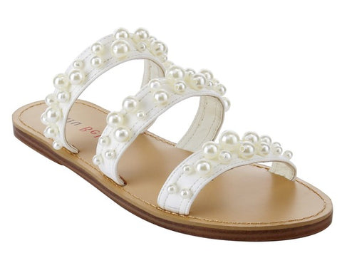 3 Strap Pearl Sandals