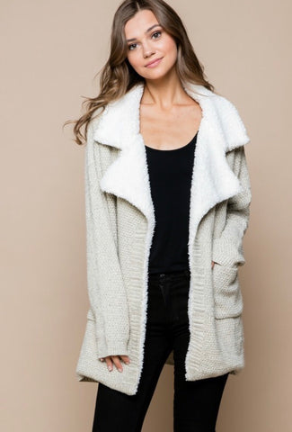 Teddy Cardigan