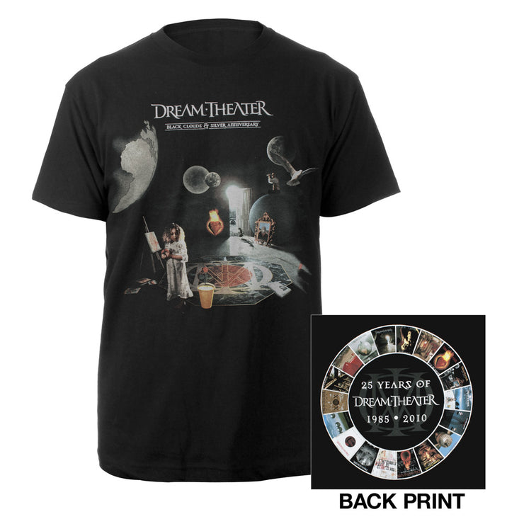 25th Anniversary Tee-Dream Theater