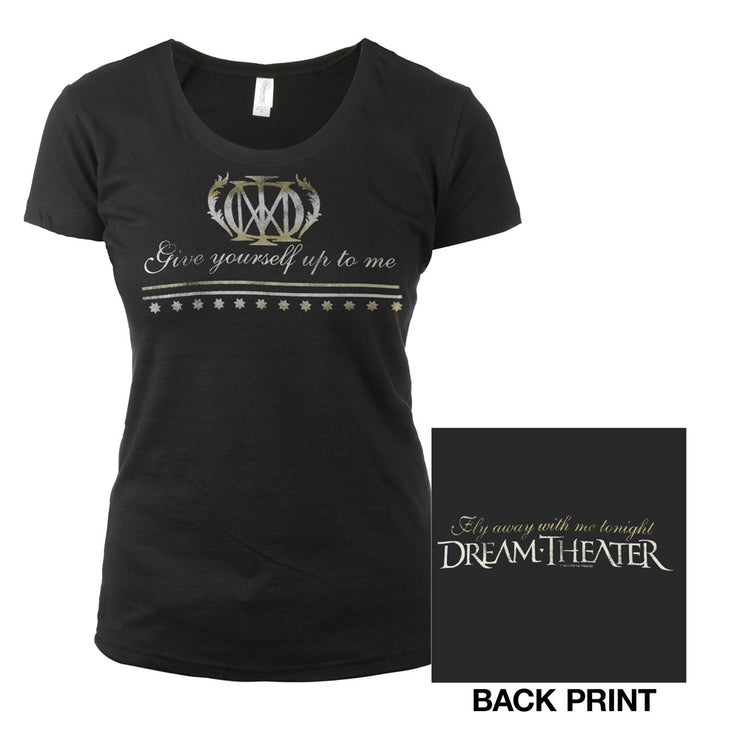Women's Forsaken Lyric Tee-Dream Theater