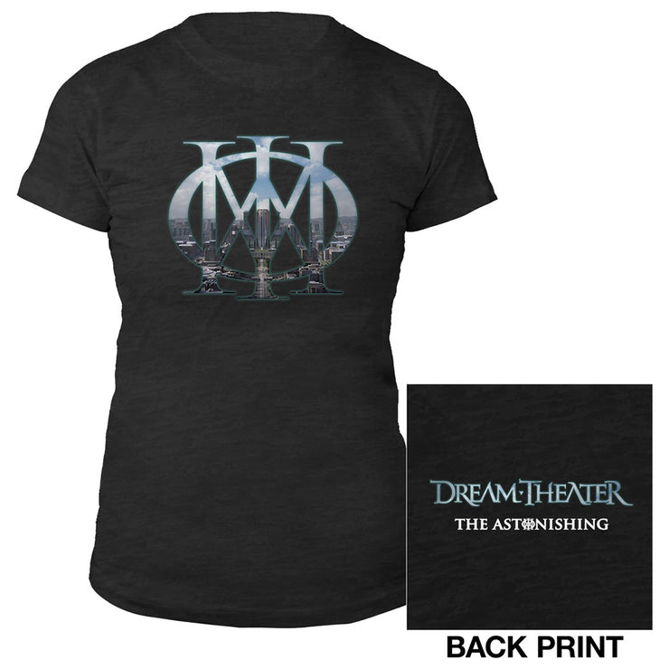 Women's Majesty Burnout Tee-Dream Theater