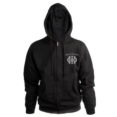 Men's Majesty Symbol Embroidered Hoodie-Dream Theater