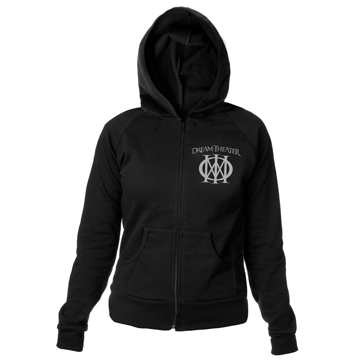 Women's Majesty Symbol Embroidered Hoodie-Dream Theater