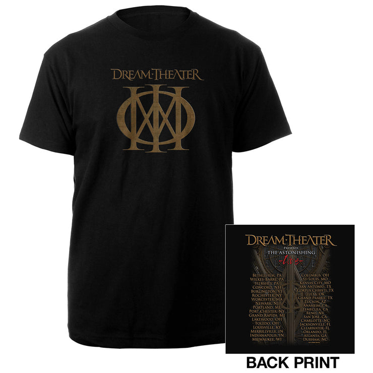 Playing Card US Fall Tour Tee-Dream Theater