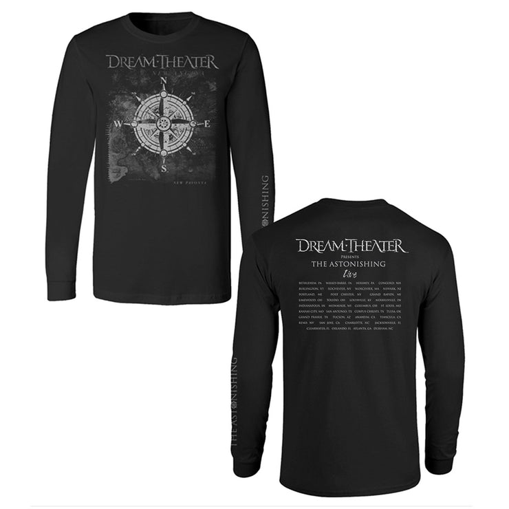 Compass Long Sleeve US Fall Tour Tee-Dream Theater