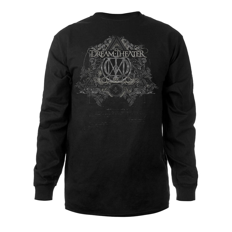 XXV Anniversary Vintage Artwork Long Sleeve Tee-Dream Theater
