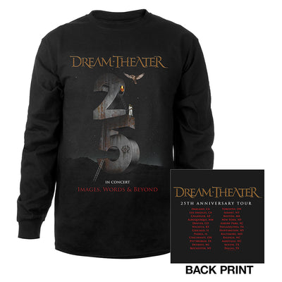 Images and Words 25th Anniversary US Tour Longsleeve Tee-Dream Theater