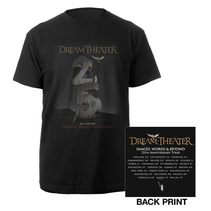 Images and Words 25th Anniversary US Tour Tee-Dream Theater