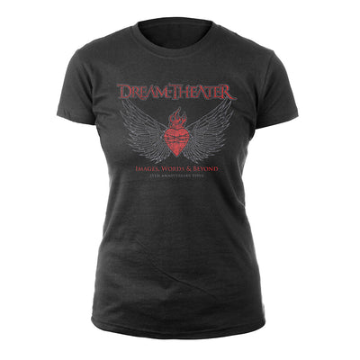 Tattoo Heart Women's Tee-Dream Theater