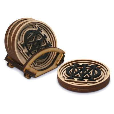 Majesty Symbol Baltic Birch Coasters-Dream Theater