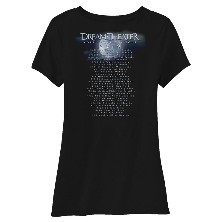 Women's Rose Petals North American Tour 2019 Scoop Neck