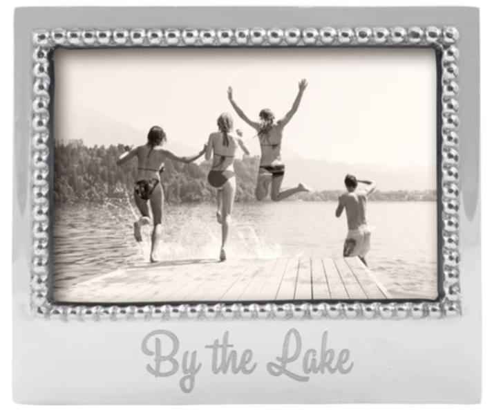 By the Lake Beaded Frame