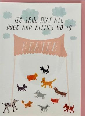 Sympathy Card - Doggies In Heaven