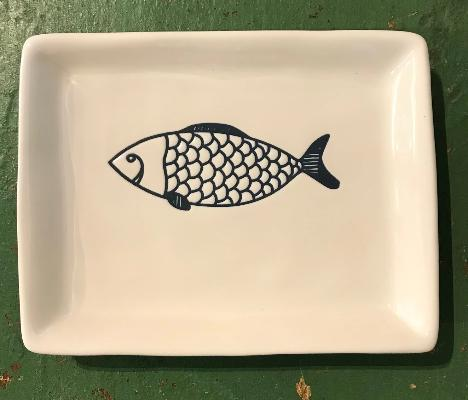 Fish Dish Large Scales