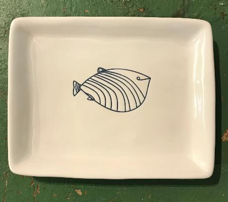 Fish Dish Stripes