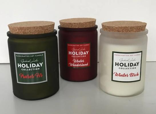 Gabriel John Holiday Candles