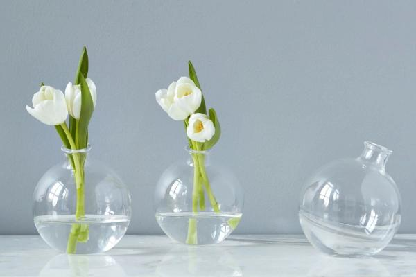 etu HOME Glass Sphere Vase