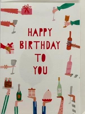 Birthday Card - Rather Deserving Birthday