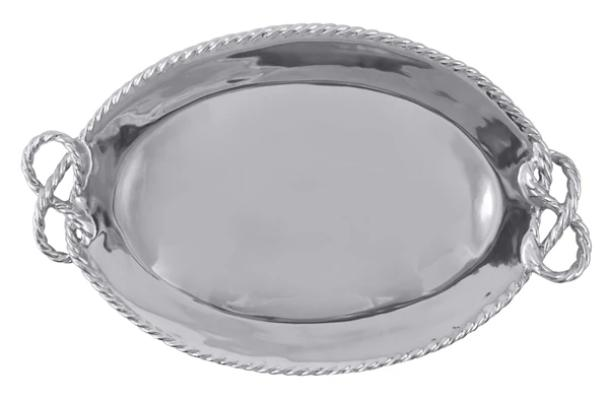Mariposa - Rope Oval Serving Tray