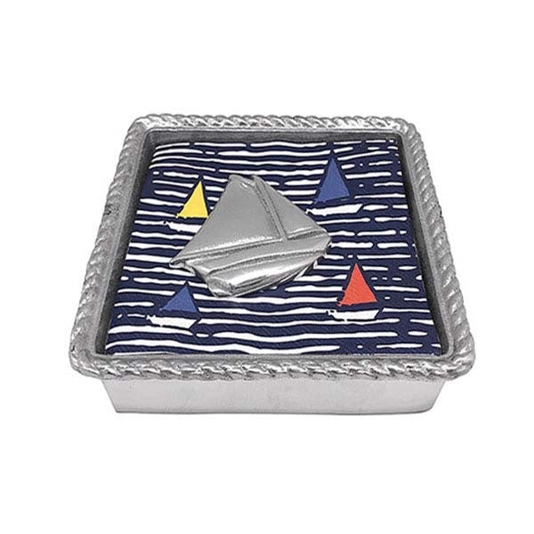 Mariposa - Sailboat Napkin Box