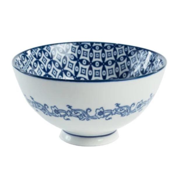 Blue & White Bowl I