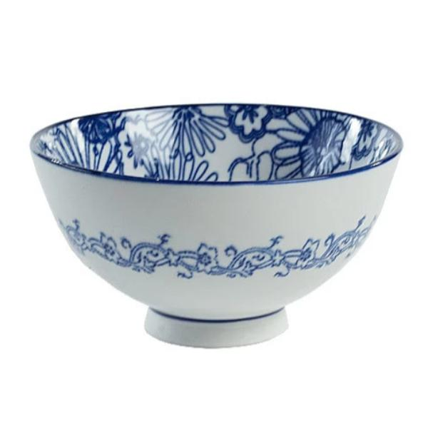 Blue & White Bowl II