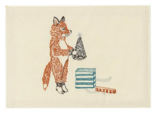 Coral & Tusk - Birthday Box Fox Card