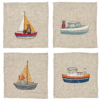 Coral & Tusk - Boats Cocktail Napkin Set