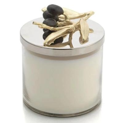 Micheal Aram Olive Branch Candle (Gold)