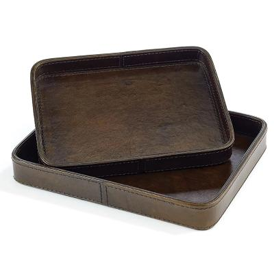 St. Jacques Leather Tray