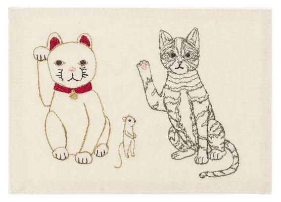 Coral & Tusk - Lucky Cats Card