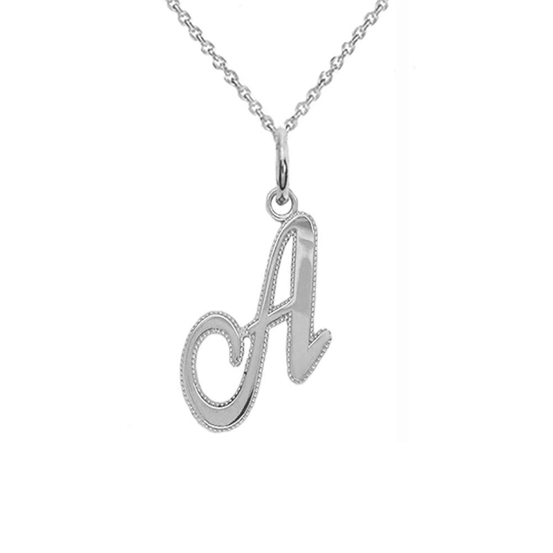 a pendant necklace