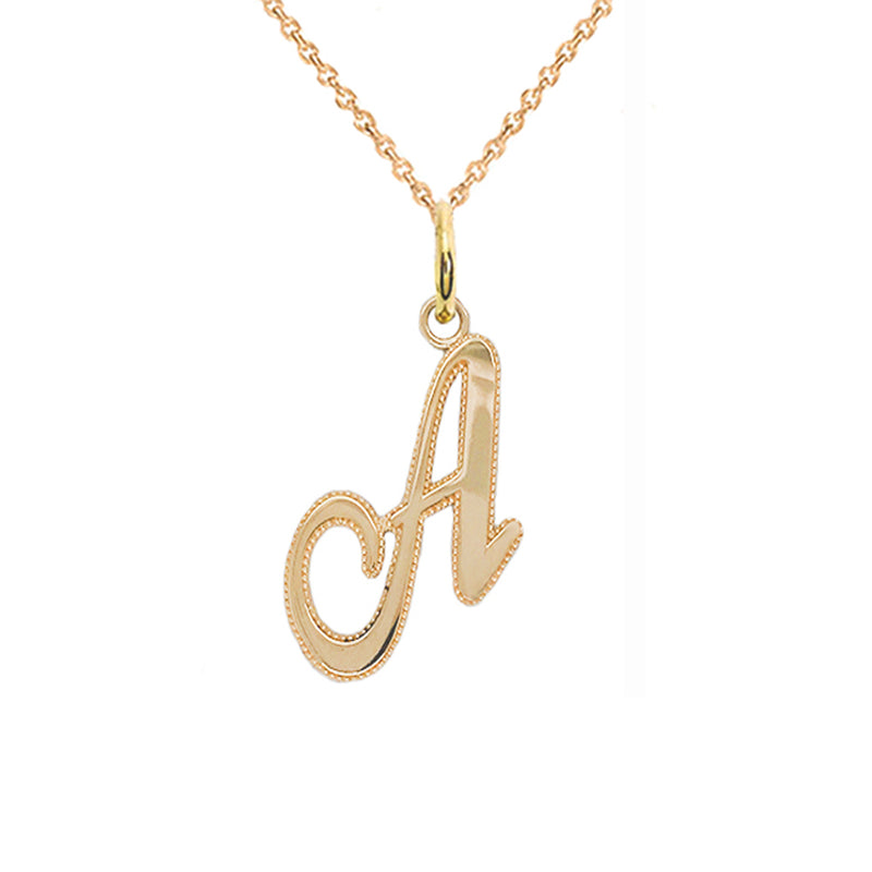 a initial necklace
