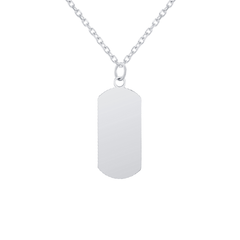 Customizable Dog Tag Initial
