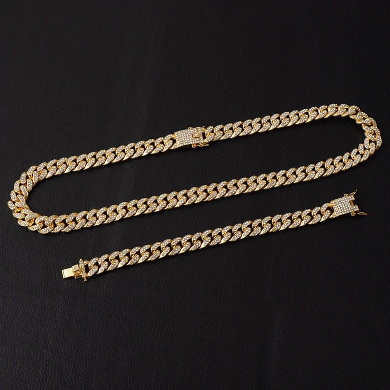 iced out gold chain