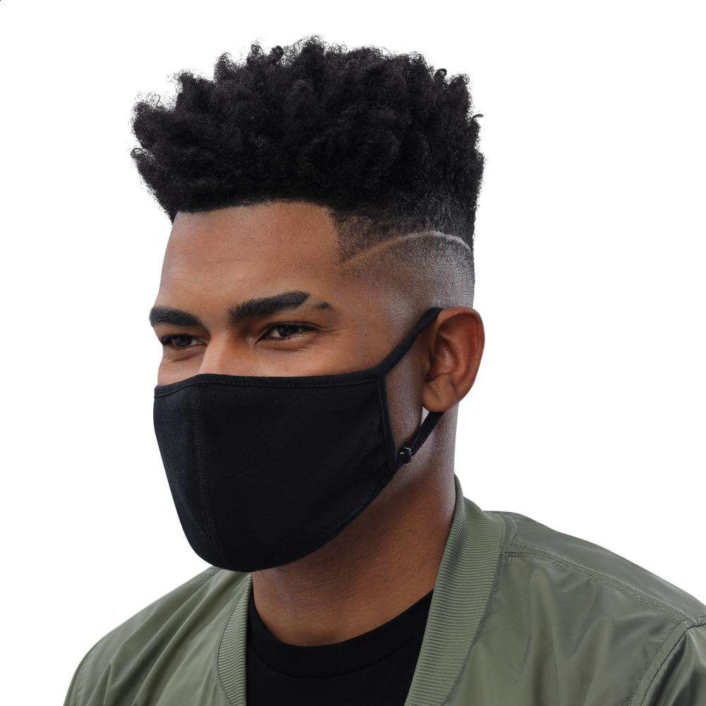 All Black Face Mask (3-Pack)