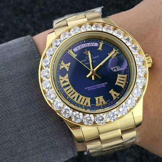 Iced Presidential Watch