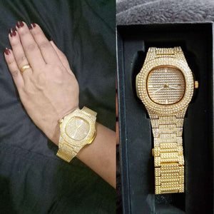 gold watch for girls