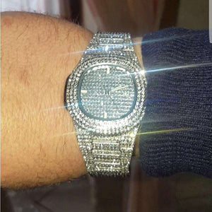 full iced out watch