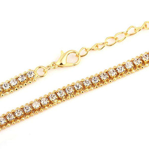 FREE 14k Gold Plated Tennis Chain - no-stylist-bling