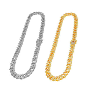 18k Gold/Silver Chain + FREE Bracelet Bundle - (TODAY ONLY) v2 - no-stylist-bling