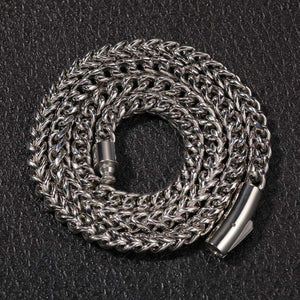 316L Stainless Steel Franco Chain Or Bracelet