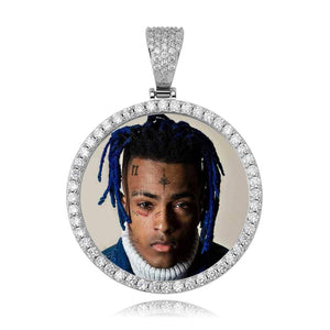 VVS Jewelry Large Custom Photo Pendant + Free Chain