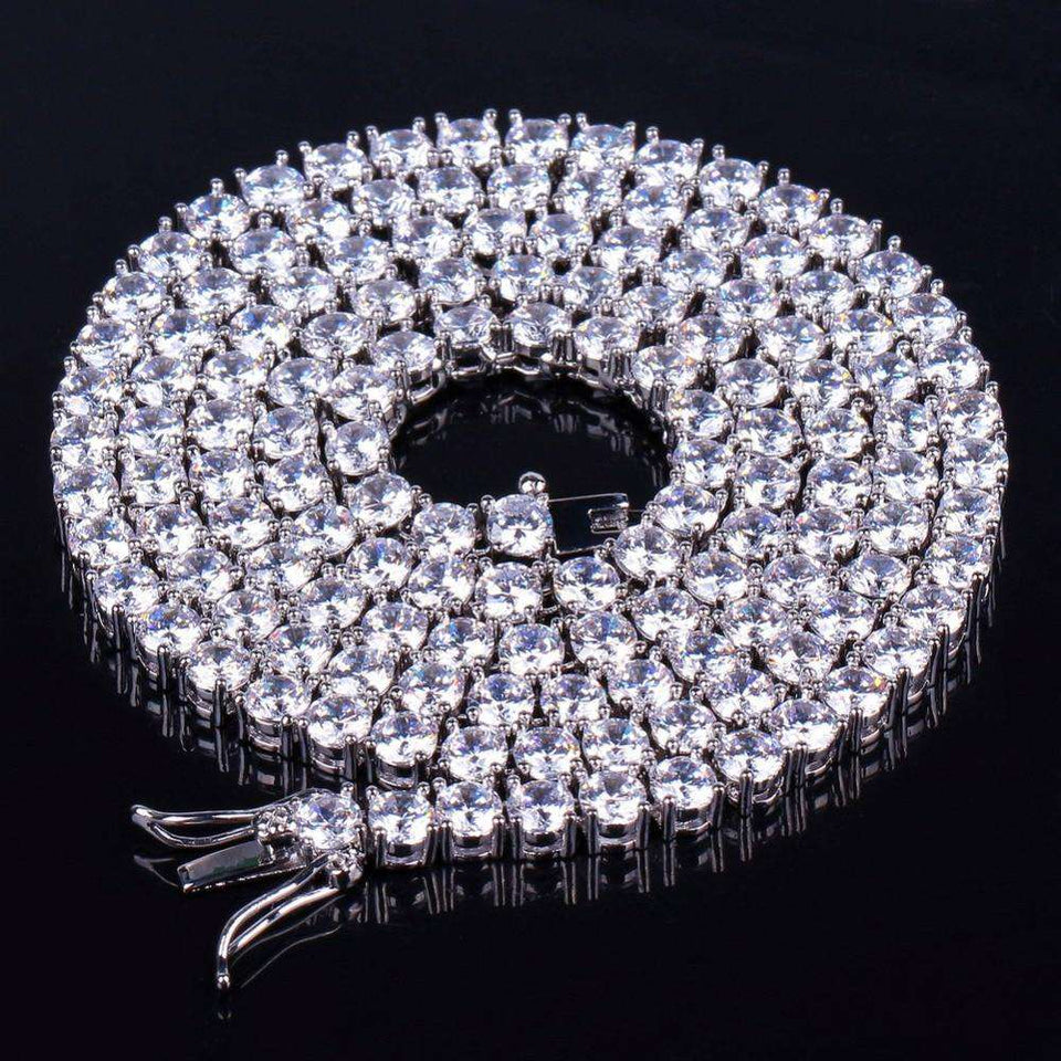 VVS Jewelry Rapper Tennis Chain - Best Quality + Fast Delivery