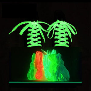 Luminous Flat Shoelaces