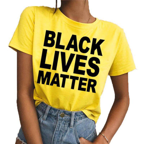 Black Lives Matter Ladies T-Shirt