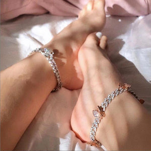 Butterfly Bae Cuban Anklet