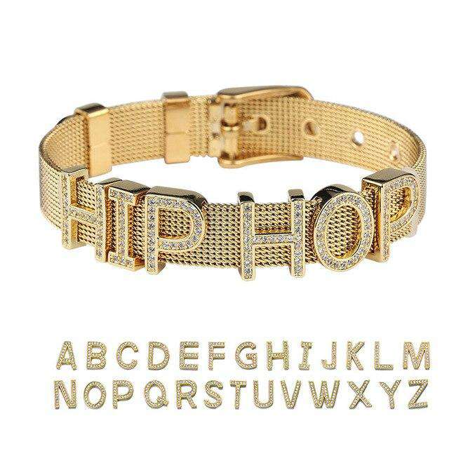 Frosty Custom Name Bracelet